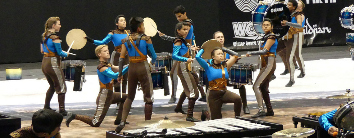 Clovis High School Percussion at WGI World Championships