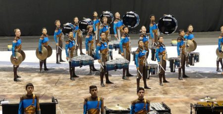 Clovis High School Percussion at WGI World Championships