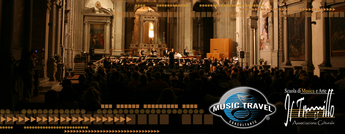 A performance with The Florence International Music Festival on a Music Travel Consultants trip.