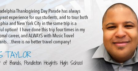 Music Travel Consultants: New York City and Philadelphia