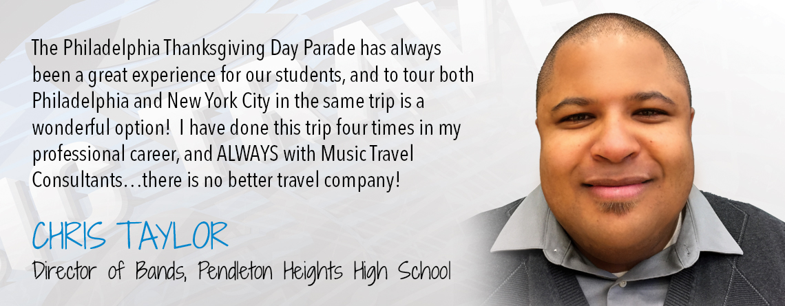 Music Travel Consultants: New York City and Philadelphia