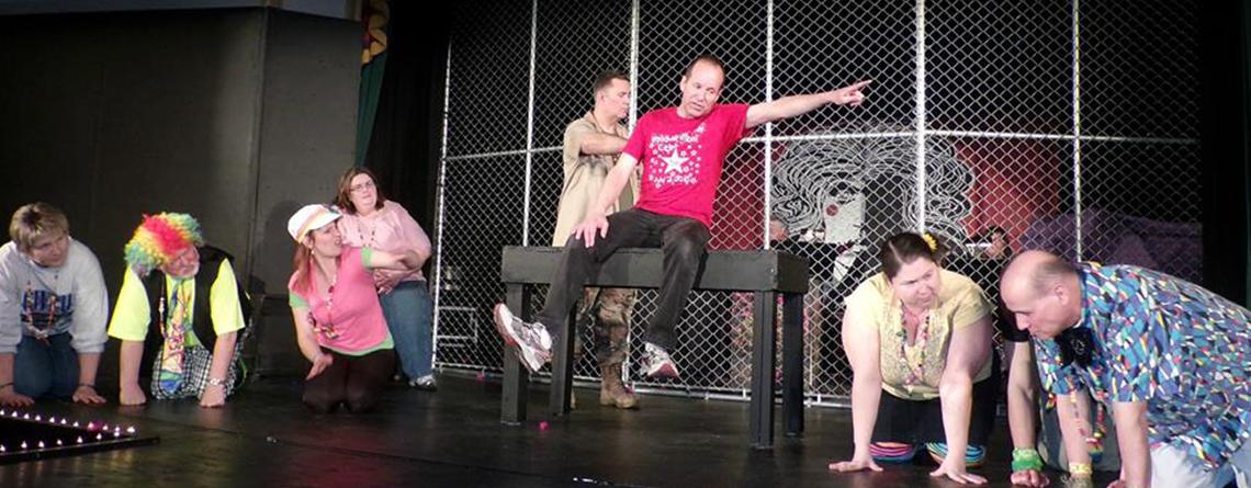 Jeff Buchanan in Theatre