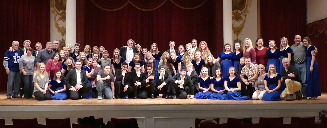 Franklin Central Concert Choir trip to Germany and Austria