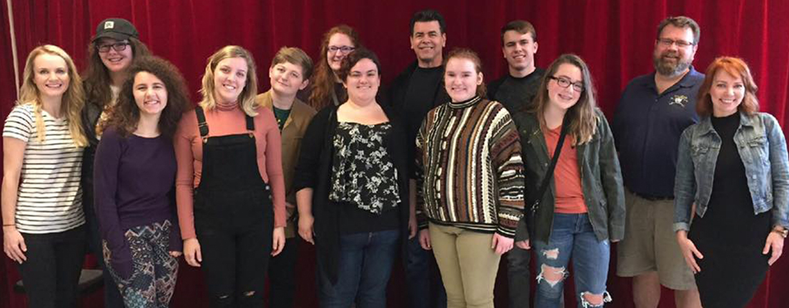 Carmel High School Drama Class enjoying some time in NYC with Music Travel Consultants, including a workshop with Carmel grad and Broadway star Sarah Litzinger!