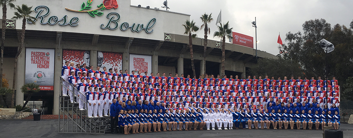 BOA Honor Band Performing in the Tournament of Roses Parade® with Music Travel Consultants