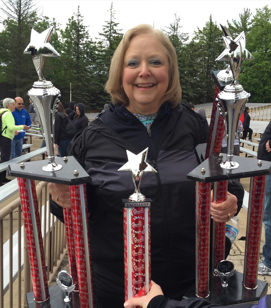 Teri Aitchison - The keeper of the Music in the Parks awards.