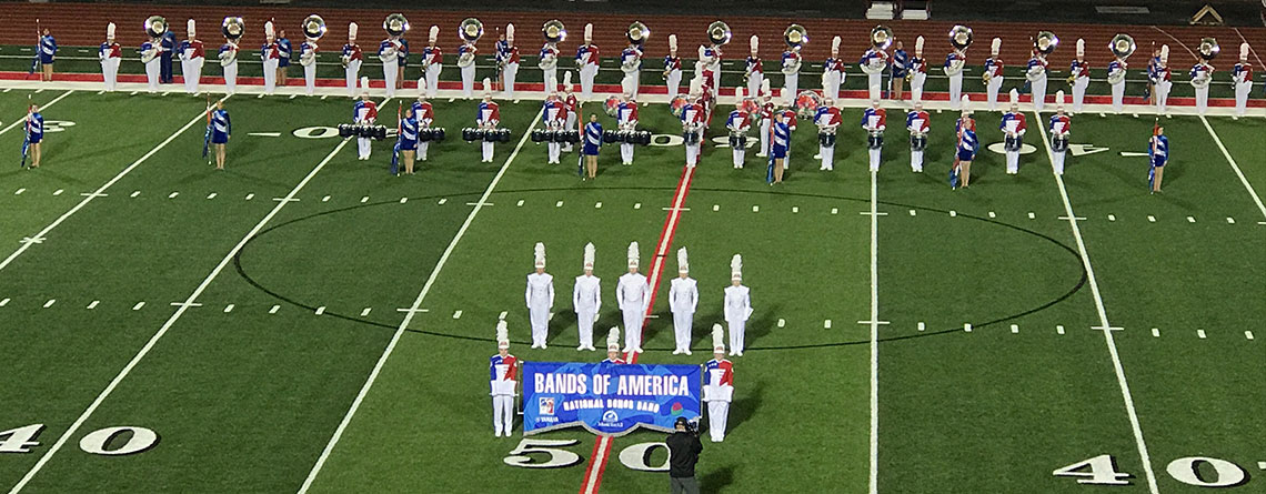 """The 2017 Bands of America """"Honor Band."""""""