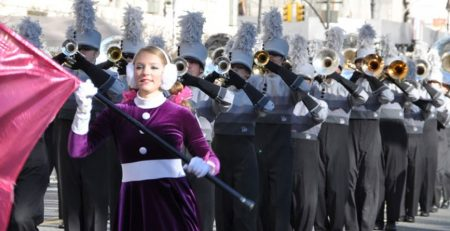 Marching Band Travel to Macy's Thanksgiving Day Parade with Music Travel Consultants