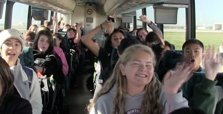 Marching Band Bus Travel with Music Travel Consultants