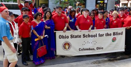Ohio State School for the Blind Marching Band