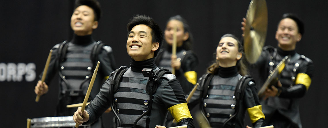 Music Travel Consultants' client, San Marino High School from San Marino,  California, giving an outstanding performance at the 2018 WGI Percussion World Championships.