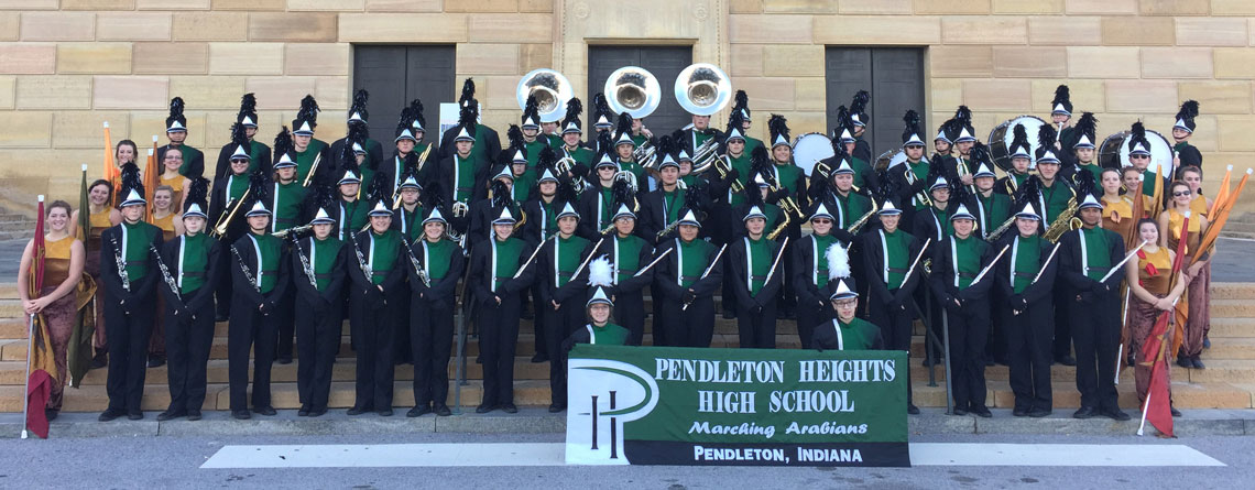 Chris Taylor's Pendleton Heights High School Band from the Philadelphia's Thanksgiving Day Parade.
