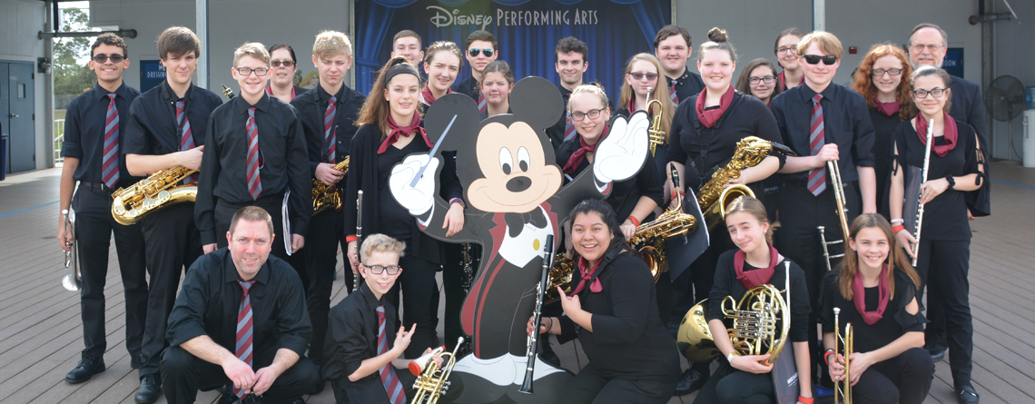 The Sidney High School Concert Band.