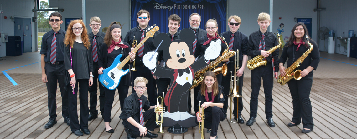The Sidney High School Jazz Ensemble.