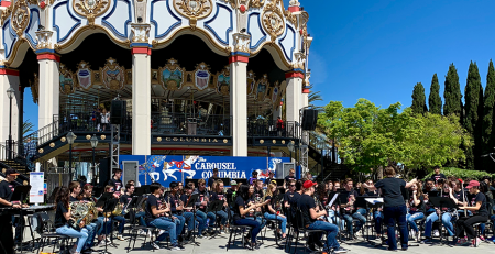 San Francisco, CA with the Eastlake High School Band