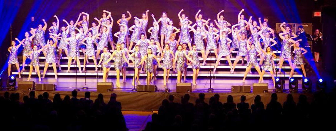 Franklin Central HS (IN) performs at the Heart of America Show Choir Competition. Franklin Central Singers, High Voltage, Accents and Chamber Choir all participated in the event.