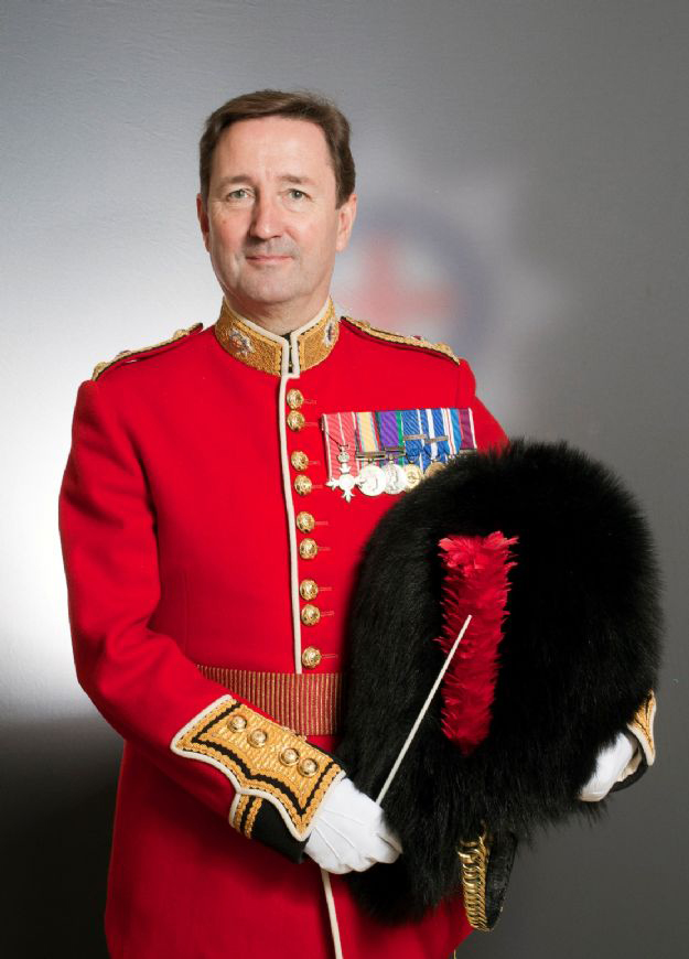 President of London Band Week, Dr. G. O. Jones MBE.