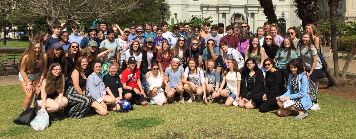 Shopping, sight-seeing, and celebrating in Jackson Square!