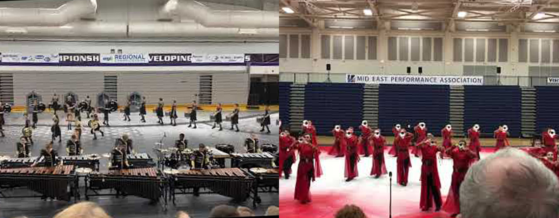 Rhythm X performs their Indoor Percussion and Winds programs. Rhythm X won both the WGI Chicago Percussion Regional and WGI Indianapolis Winds Regional prior to the cancellation of the season.