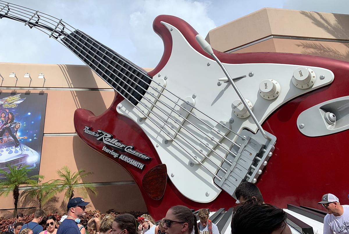Rock 'N' Rollercoaster is always a favorite attraction