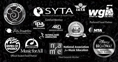Music Travel Consultants is honored to be recognized and a part of these prestigious and respected travel associations.