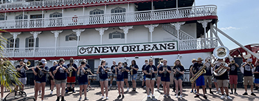 Napoleon High School Band New Orleans Trip