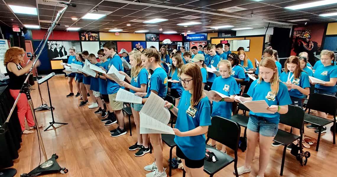 Disney Sings Workshop