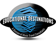Educational Destinations logo.