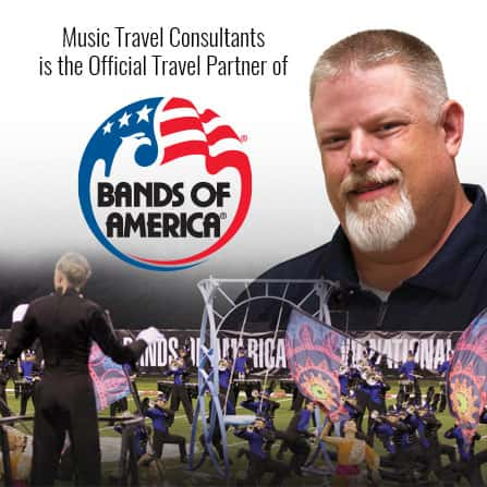 Perform at Bands of America events.