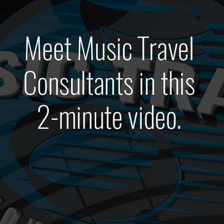 Introduce yourself to Music Travel Consultants.