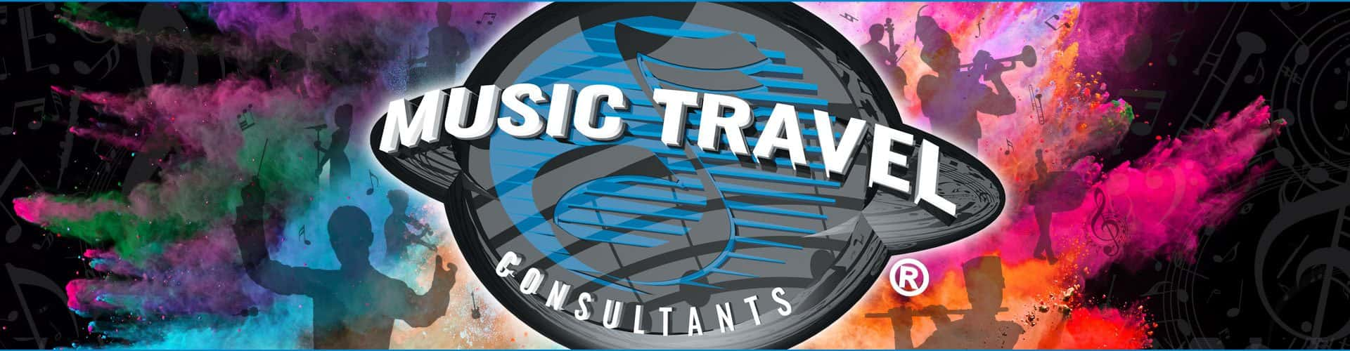 Music Travel Consultants Banner Background