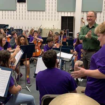 Tulane University's Newcomb Department of Music Clinics