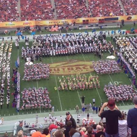 Bowl Game Festivals and Band Championships