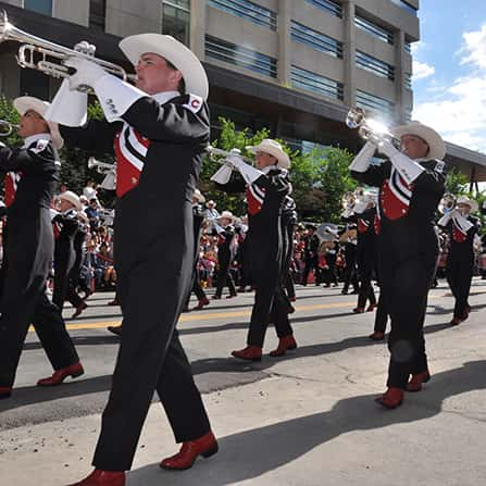 Calgary Stampede Parade and Showbands Live