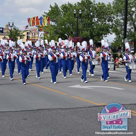 Vikingland Band Festival Parade Marching Championship