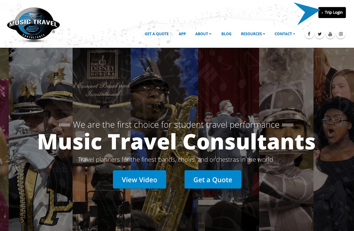 My Music Travel Userguide | Music Travel Consultants